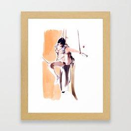 Watercolour Kimino No.4 Framed Art Print