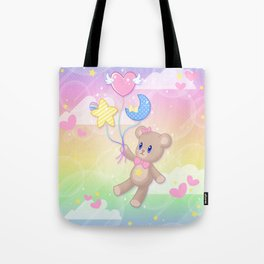 Floating Through Dreamland Tote Bag