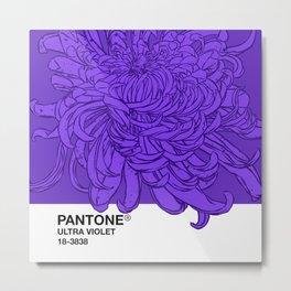 Pantone Ultra Violet 2018 Metal Print