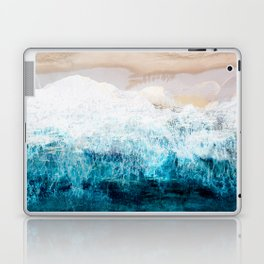 Watercolour Summer beach III Laptop & iPad Skin