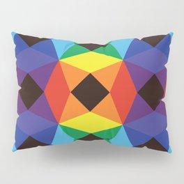Rainbow Octagons Pillow Sham
