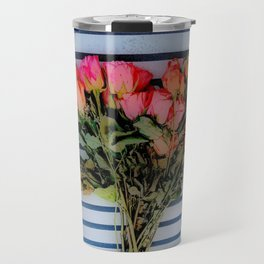 Sketchy Flowers 2 Travel Mug