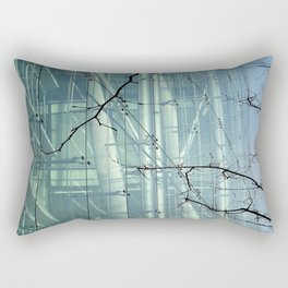 City Seascape Rectangular Pillow