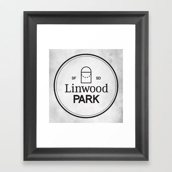 Linwood Park Framed Art Print