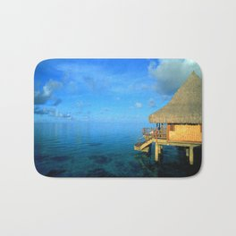 Over-the-Water Island Bungalow Bath Mat