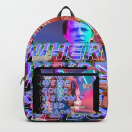 Glitch to the Future Backpack