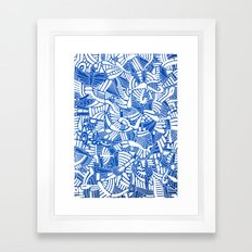 - the captain who fell with the blue angels - Framed Art Print