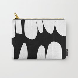 Precarious b&w Carry-All Pouch