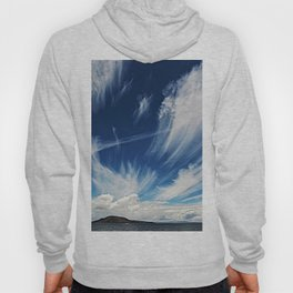 Sky and Clouds at Lake Titicaca Peru - Bolivia in the Andes Mountains Photograph Hoody