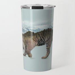 Bowing Tiger Travel Mug