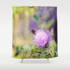 Wild Thistle Shower Curtain