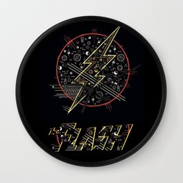 The Flash Mark Wall Clock