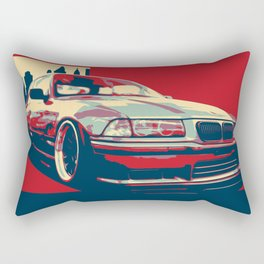Bimmer E36-ART Rectangular Pillow
