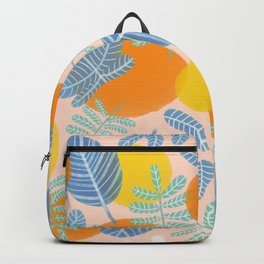 Retro Watercolor Florals Backpack