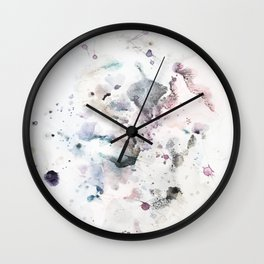 the beauty of impermanence Wall Clock