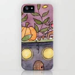 In The Garden: October iPhone Case