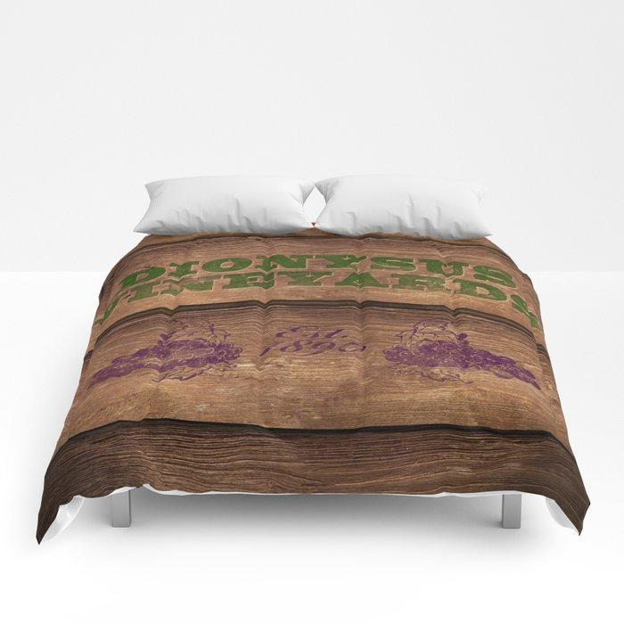 Dionysus Vineyards Comforters