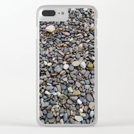 What Stories You Could Tell... Rocks of Jasper Beach Clear iPhone Case
