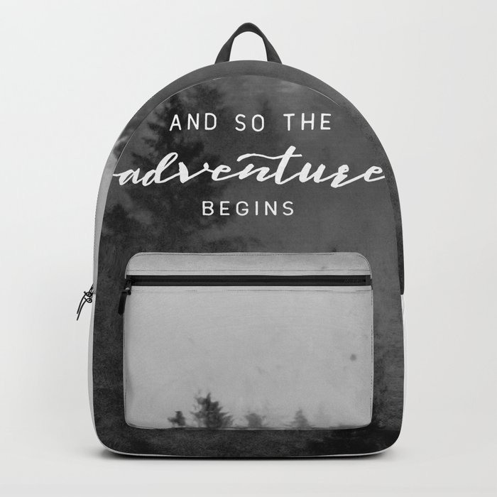 And So The Adventure Begins III Backpack