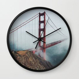 California Bridge photo Wall Clock
