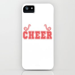 """A sassy T-shirt Design for the """"Best Cheer Lister Ever"""" perfect shirt to cheer your best cheerer iPhone Case"""