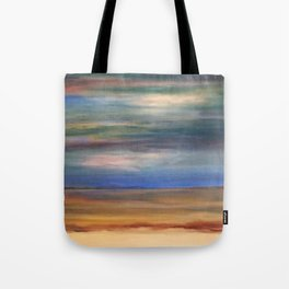 Double Setting Sun Tote Bag