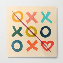 xoxo Love Metal Print