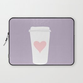 Ode To Coffee Laptop Sleeve