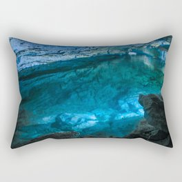The underground lake Rectangular Pillow