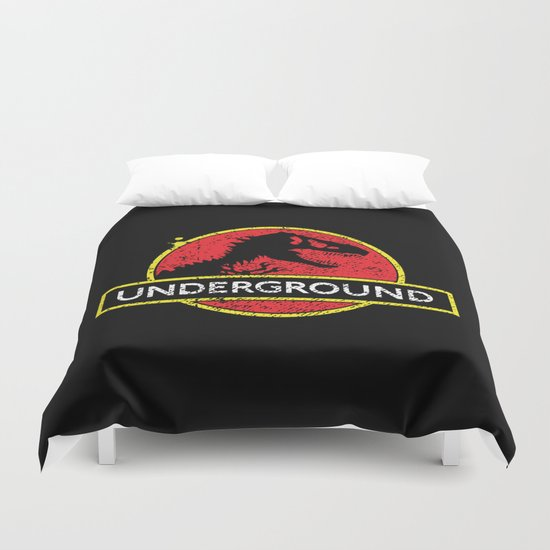 Monsters of the Underground Duvet Cover