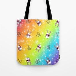 Gllama Llama Pattern Tote Bag