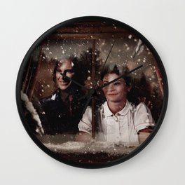 Christmas / Rumbelle Wall Clock