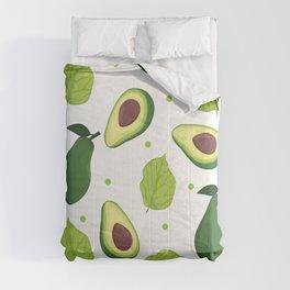 Avocado Fruit Seamless Pattern Comforters