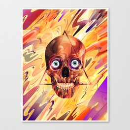 Deathzophrenia. Canvas Print