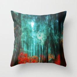 Magicwood Throw Pillow