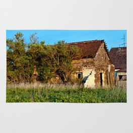 Abandoned Country Barn Rug
