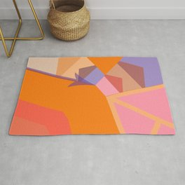 ln Abstraction Rug