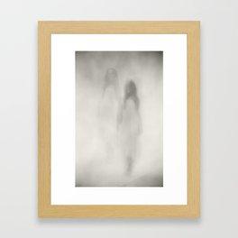 Ghostly Framed Art Print