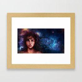 We Are made of Starstuff Framed Art Print
