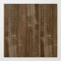 Australian Walnut Wood Canvas Print