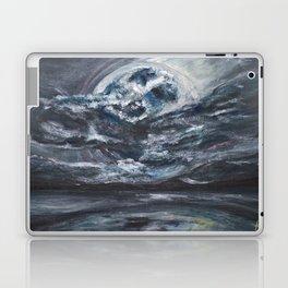blame it on the full moon Laptop & iPad Skin