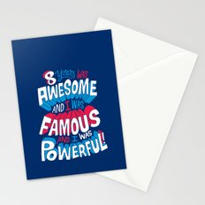 8yrs was Awesome! Stationery Cards