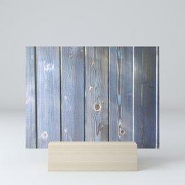 blue cedar Mini Art Print