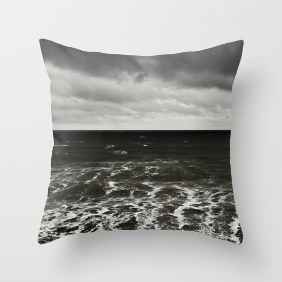 all at sea... Throw Pillow
