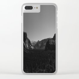 Tunnel View, Yosemite National Park Clear iPhone Case