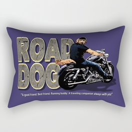 Road Dog Defined Rectangular Pillow