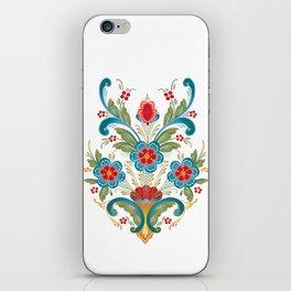 Nordic Rosemaling iPhone Skin