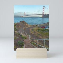 Stairs to the Gate Mini Art Print