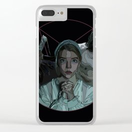 The Witch alternative poster Clear iPhone Case