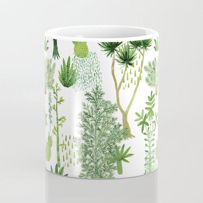 Green jungle pattern Coffee Mug